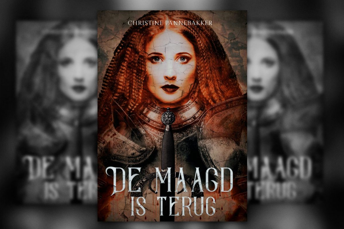 De maagd is terugn book cover
