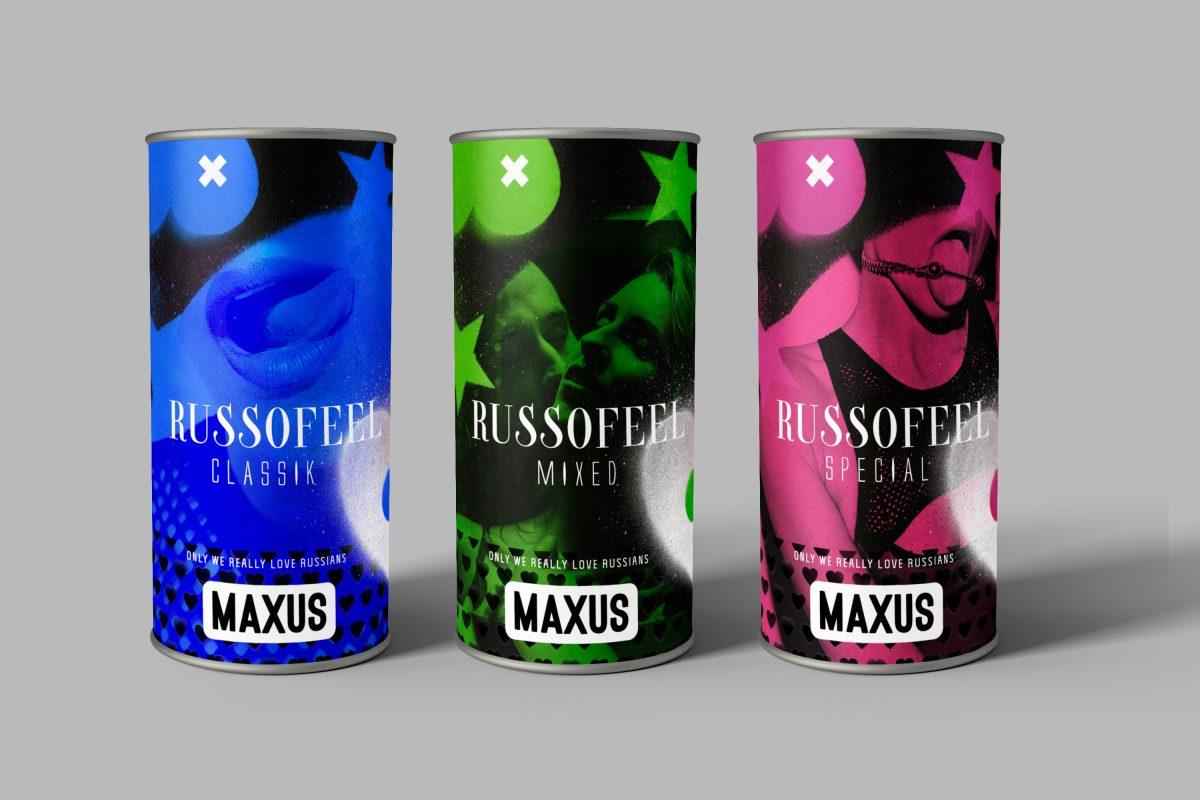 Maxus condom label