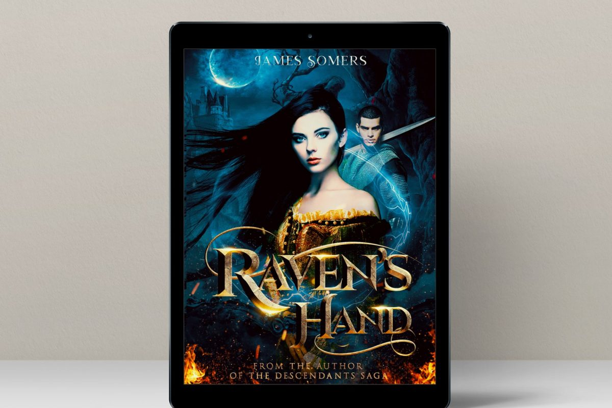 Raven's hand